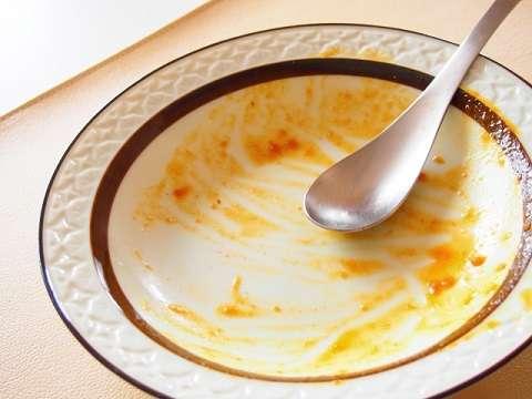 油汚れのお皿