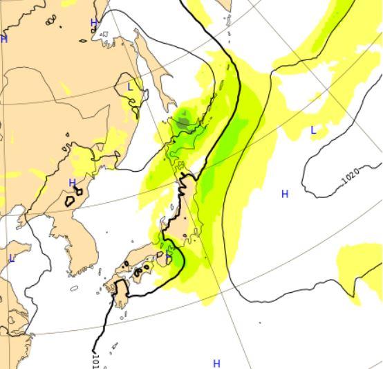 台風6号ヨーロッパ予想27日