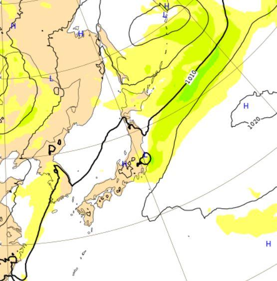 台風6号ヨーロッパ予想28日