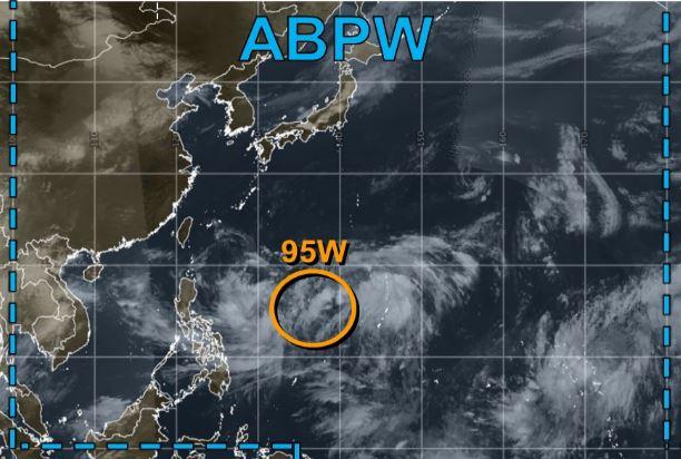 熱帯低気圧ABPW9月12日予想