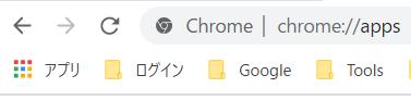 Chromeアプリの画像